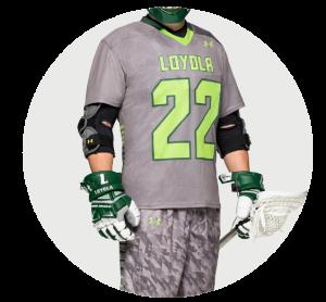 Custom Men's Lacrosse Team Uniforms and Men's Lacrosse Team Jerseys