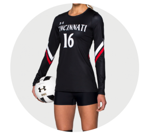 Custom Women's Volleyball Team Uniforms and Women's Volleyball Team
